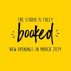 Fully Booked Studio: New openings in March 2019