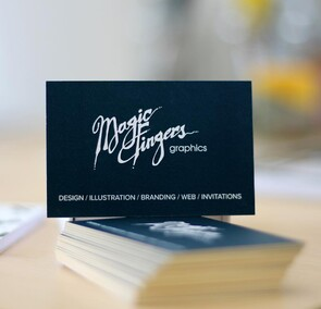 Magic Fingers Graphics | Business Card Design & Printing
