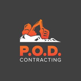 P.O.D. Contracting | Hawkes Bay | Logo Design