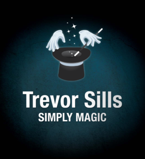 Trevor Sills - Simply Magic Brand and Logo